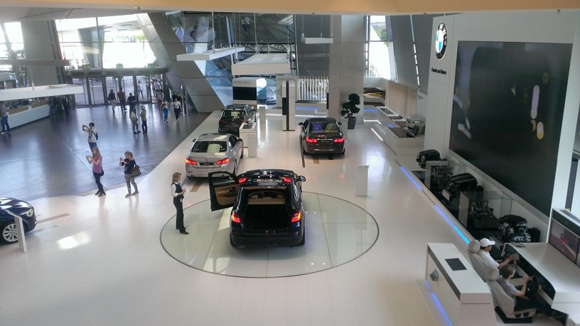 бизнес центр BMW Welt