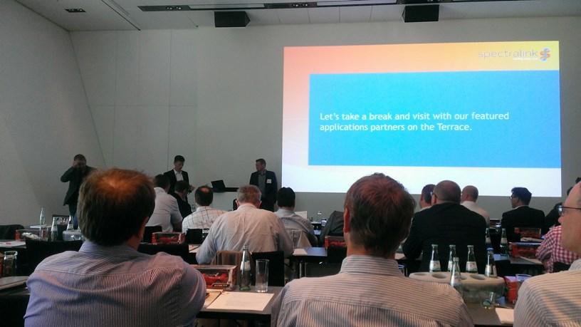 Партнерская конференция Spectralink.  Мюнхен 21-22 мая.